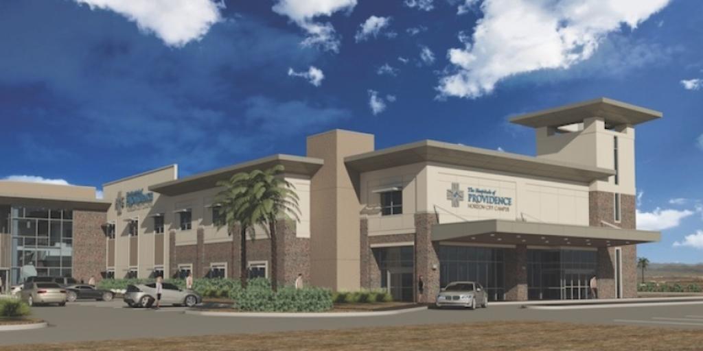Horizon City-Microhospital Rendering