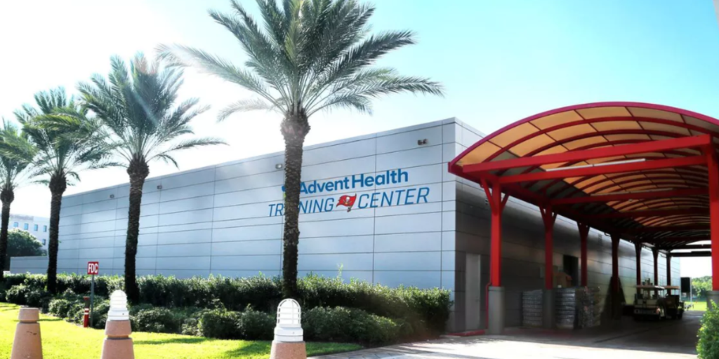Florida Hospital Scores Naming Rights For New Tampa Bay Buccaneers Training Center
